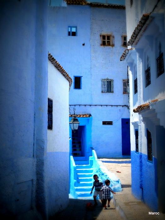 Chefchaoeun, la ville bleue