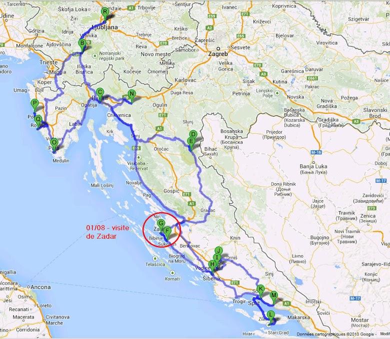 roadtrip kroatien
