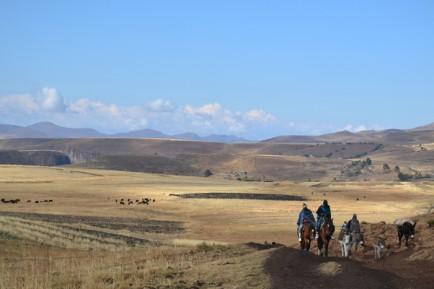Lesotho_Balade de Semonkong lodge