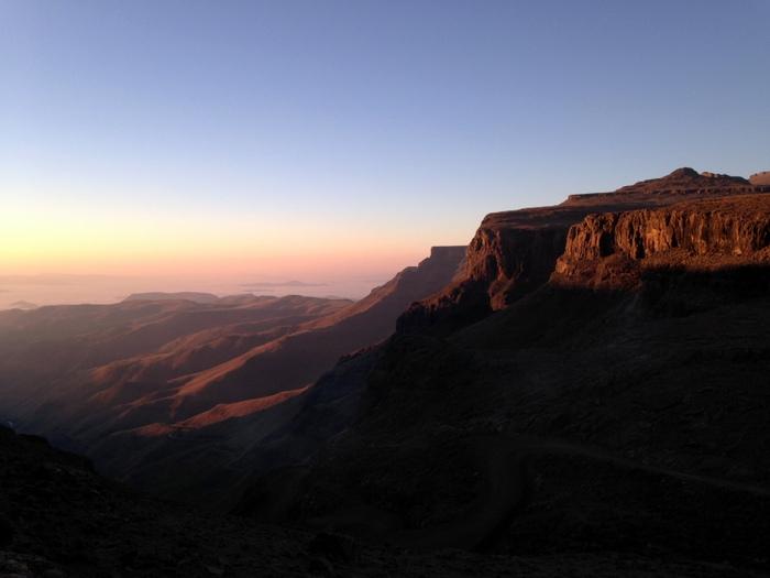 Lesotho_Sani pass