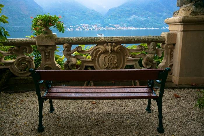 Come, somptueux jardins de la villa balbianello