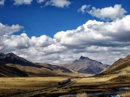 Sur la route vers Puno