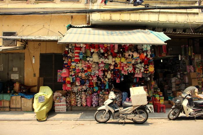 quartier des corporations Hanoi
