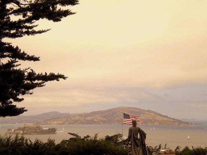 Alcatraz, baie de san francisco