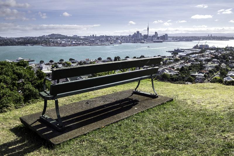 vue sur Auckland depuis Devonport