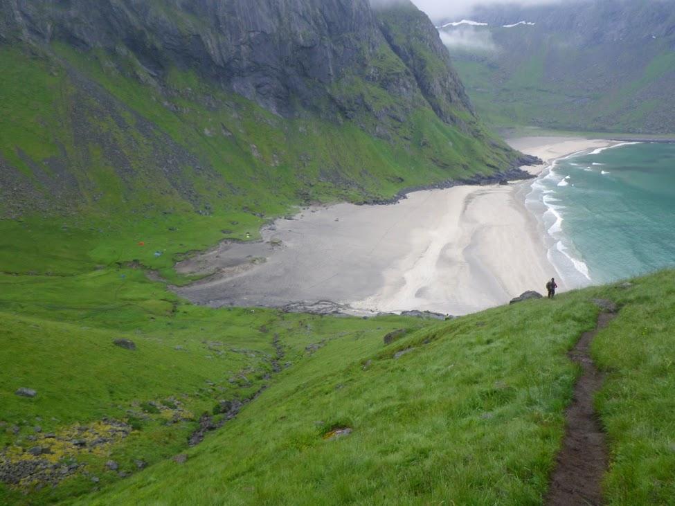 Itinéraire Norvège: Rando d'1 semaine dans les LOFOTEN