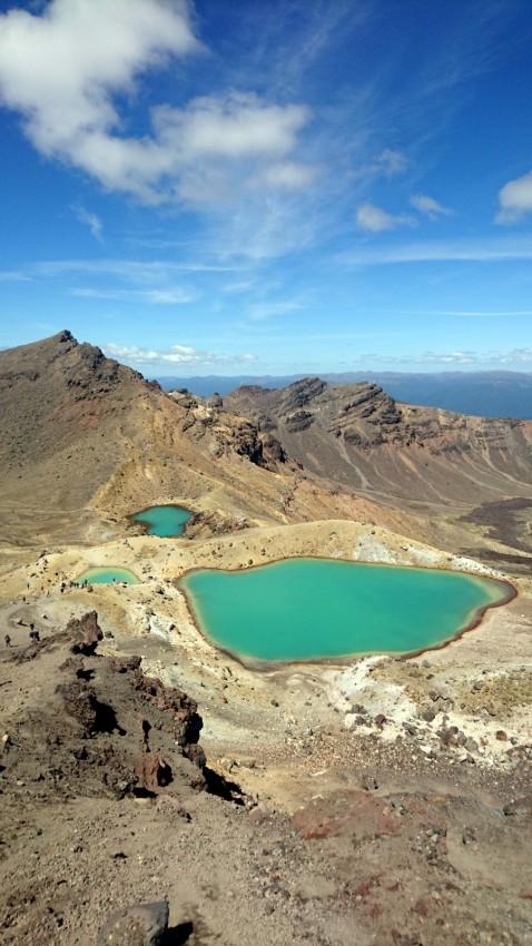 Alpine crossing Tongariro