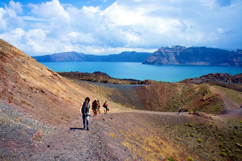 Volcan Santorin