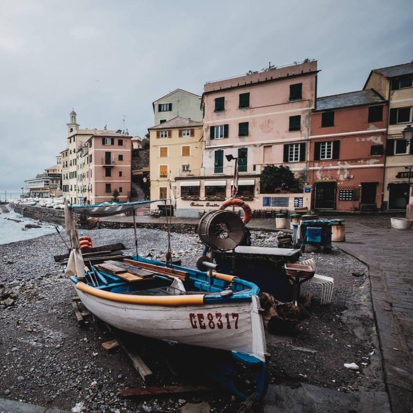 Bocadasse, quartier de Gênes