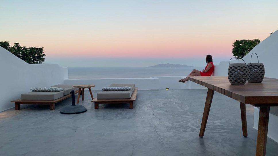 1 semaine de Santorin à Naxos...